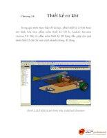 thiết kế phương pháp điều khiển robot tự hành dựa trên cơ sở logic mờ, chương 14 doc