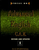 Focus on advanced english C.A.E part 1 pps