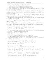Bài tập ma trận định thức