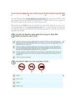 10 câu trắc nghiệm hay làm sai nhất khi thi bang otô xe máy