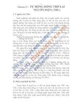 thiết bị bảo vệ và tự động hóa trong sản xuất, chương 19 pdf