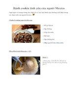 Bánh cookie tình yêu của người Mexico doc