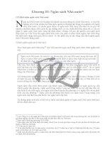 Đề cương bài giảng môn Lý thuyết tài chính Chương 3 doc