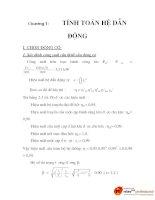 đồ án: môn học chi tiết máy, chương 1 docx