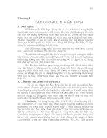 Giáo trình Miễn dịch học thú y - Chương 5 docx