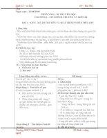 Giáo án sinh 12 cơ bản phần 5: di truyền học (Bài 1 - bài 23) pot