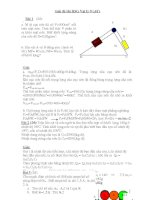 Giải Đề thi HSG Vật lý 9 (.6Y)