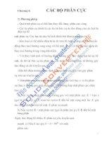 bài giảng môn học quang điện tử và quang điện, chương 4 potx