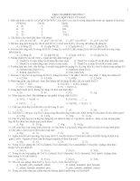 Bài tập TN chọn lọc: Sắt và hợp chất của sắt