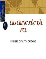Cracking xúc tác FCC docx