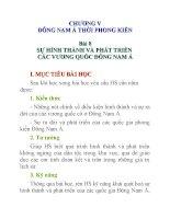 Lịch sử lớp 10 Bài 8 pot