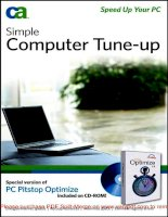 Simple Computer Tune-up: Speed Up Your PC- P1 doc