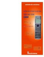 Hướng dẫn sử dụng và giải toán trên máy tính Casio fx 570ES pps