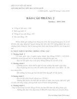 BAO CAO THANG 2