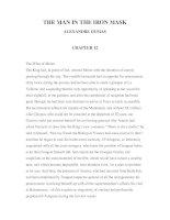 LUYỆN ĐỌC TIẾNG ANH QUA CÁC TÁC PHẨM VĂN HỌC – THE MAN IN THE IRON MASK ALEXANDRE DUMAS CHAPTER 12 ppt