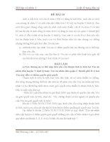 đề thi môn luật tố tụng dân sự (kèm lời giải) - đề 10.2