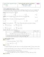 Giúp em ôn thi kì 2 toán 6(đề 01+ đề 02)