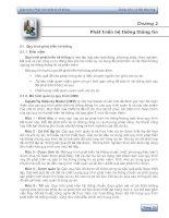 Chương 2: Phát triển hệ thống thông tin pdf