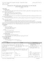 Giáo án Giải tích 12 Chương III Ban cơ bản