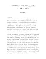 LUYỆN ĐỌC TIẾNG ANH QUA CÁC TÁC PHẨM VĂN HỌC – THE MAN IN THE IRON MASK ALEXANDRE DUMAS CHAPTER 20 potx