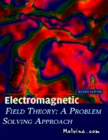 Electromagnetic Field Theory: A Problem Solving Approach Part 1 ppsx