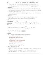 Một số bài ôn luyện toán lớp 9