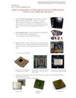 phần 1  nhận diện và công dụng của các thiết bị máy tính và các thiết bị liên quan