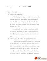 đồ án quy trình công nghệ sản xuất bia, chương 4 doc