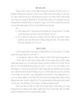 đề thi môn luật tố tụng dân sự (kèm lời giải) - đề 2