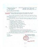 Số: 50/PGDĐT ngày 25/3/2010 v/v cử giáo viên làm trọng tài phục vụ cho Đại hội TDTT Huyện