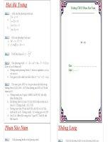 DE CUONG ON TAP HK2 - TOAN 9 (09-10)