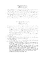 Đề thi học kì II văn 12 ( có đáp án)