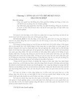 Kinh tế tài chính - Chương 1 - Tổng quan về chế độ kế toán doanh nghiệp ppt
