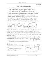 Các khái niệm cơ bản về sức bển vật liệu docx