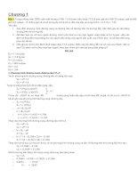 Tổng hợp bài giải kinh tế vi mô ppsx