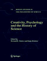 creativity psychology and the history of science