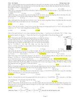 Trắc nghiệm sóng cơ học pdf