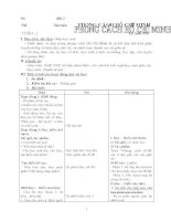 Giáo án HK i ngữ văn 9
