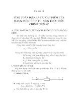 đồ án: thiết kế lưới điện khu vực 3, chương 14 pot