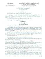 Nghị định 110/2004/NĐ-CP potx