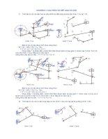 Bài tập nguyên lý máy số 1 pdf