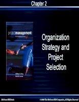 chương 2  tổ chức chiến lược và lựa chọn dự án
