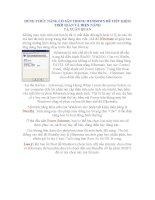 DÙNG CHỨC NĂNG CÓ SẴN TRONG WINDOWS ĐỂ TIẾT KIỆM THỜI GIAN VÀ ĐIỆN NĂNG pdf