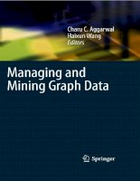 Managing and Mining Graph Data part 1 pptx