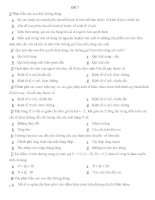 đề thi trắc nghiệm môn kinh tế vĩ mô - đề số 7