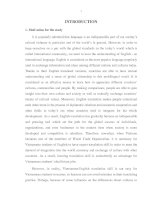 The study: An analysis of common errors on verb tenses and word choices in VietnameseEnglish translation by the secondyear English majors at Dong Thap University