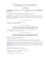 Câu điều kiện và các cách dùng đặc biệt pot