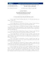 Quyết định số 35/2009/QĐ-UBND do Ủy ban nhân dân TP Đà Nẵng ban hành potx