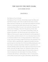 LUYỆN ĐỌC TIẾNG ANH QUA CÁC TÁC PHẨM VĂN HỌC – THE MAN IN THE IRON MASK ALEXANDRE DUMAS CHAPTER 11 ppsx