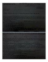 Đê thi thử Môn Vật Lý Lần 2  Năm 2014 Chuyên  Sư Pham Hà Nội